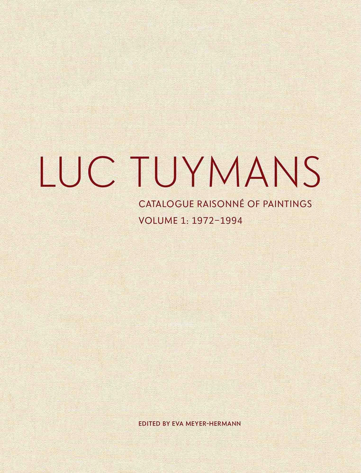 Luc Tuymans Werkverzeichnis