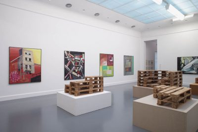 Installation view Kippenberger