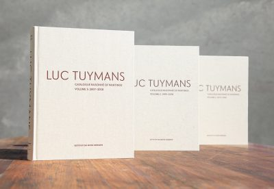 Luc Tuymans Catalogue Raisonné of Paintings, Volumes 1, 2, and 3.