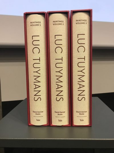 Volume 1-3 of Luc Tuymans Catalogue Raisonné of Paintings