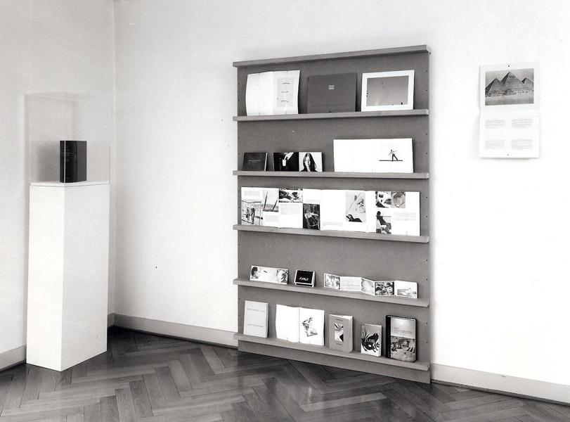 Retrospective of artists' books by John Baldessari