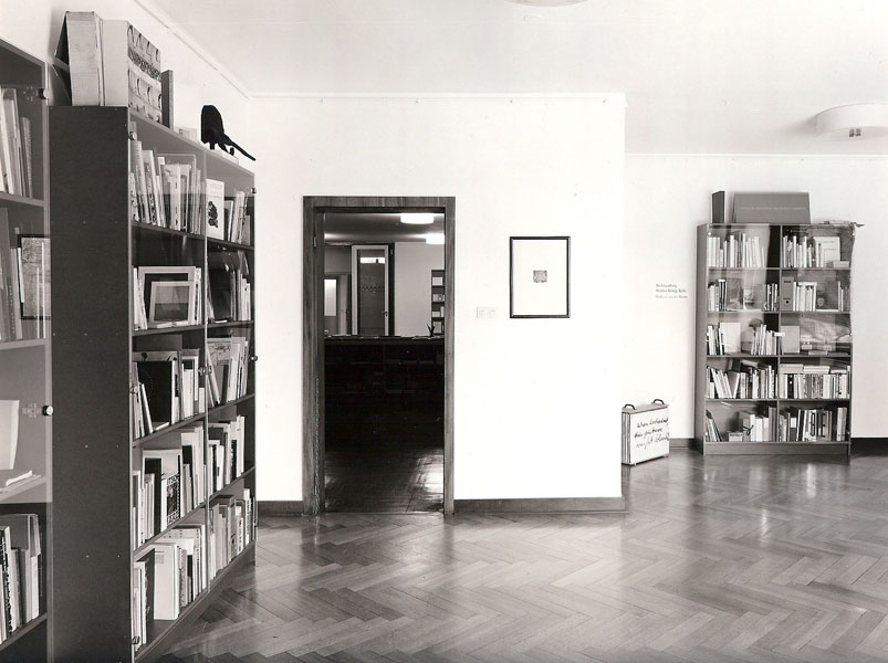 Shop of artists' books