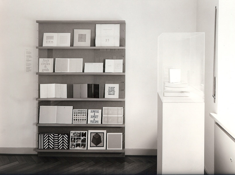Retrospective of artists' books by Sol LeWitt